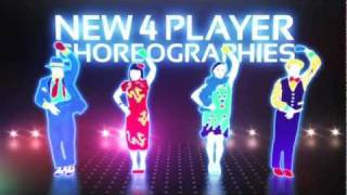 Just Dance 3《舞力全開 3》Xbox 360 Kinect 遊戲影片 - Ubisoft SEA