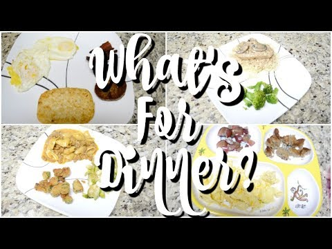 WHAT'S FOR DINNER   EASY DINNER RECIPES    AFFORDABLE MEALS   WORKING MOM DINNER IDEAS
