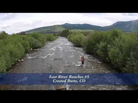 East River Ranches #5, Crested Butte, Colorado, Riverfront Land for Sale