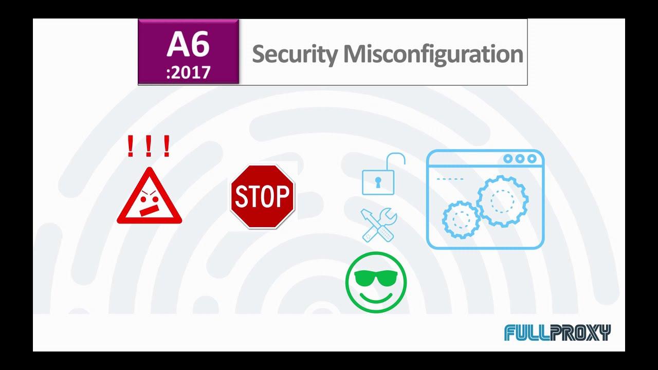F5 WAF vs OWASP #6 Security Misconfiguration - YouTube