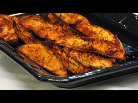 Spicy Sweet Potato Fries -- Lynn's Recipes