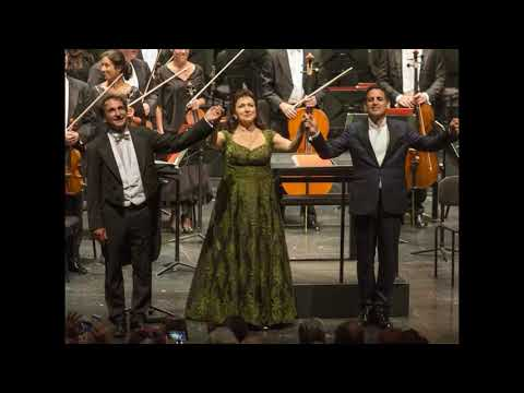 Juan Diego Florez & Krassimira Stoyanova - Tu pur qui? - Lucrezia Borgia - Salzburg 27.08.2017