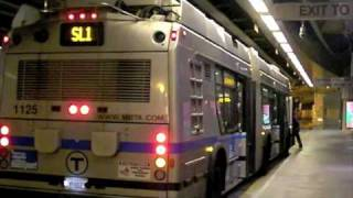 MBTA Silver Line Courthouse Station