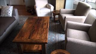Reclaimed Wood Coffee Tables By Hd Threshing Floor Furniture
