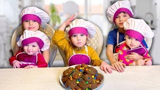 Cinq Enfants - Faisons des cookies Nursery Rhymes & Chansons pour enfants karaoké