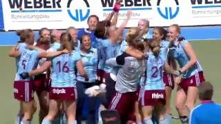 2. Halbfinale DM Feld Damen DHC vs. UHC 1:2 4.6.2016 MHC Center.TV