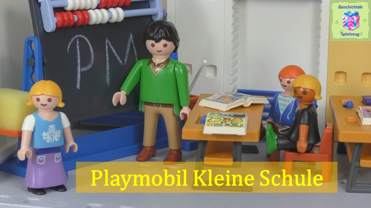 playmobil 5923 kleine schule playmobil geschichten und. Black Bedroom Furniture Sets. Home Design Ideas