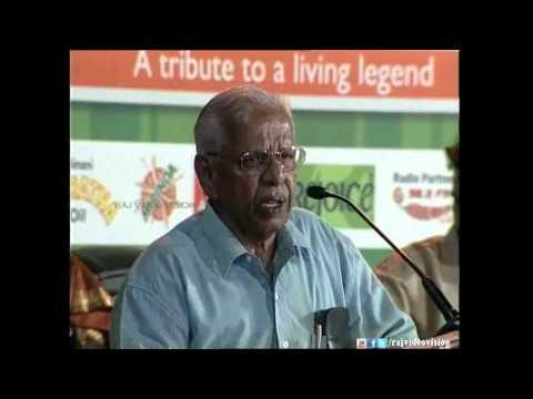 Nagesh Speaks About Balachander