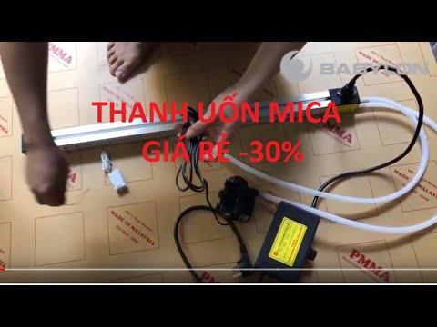Thanh nhiệt uốn mica, máy uốn mica GIÁ RẺ GIẢM 30% - BABYLON CNC