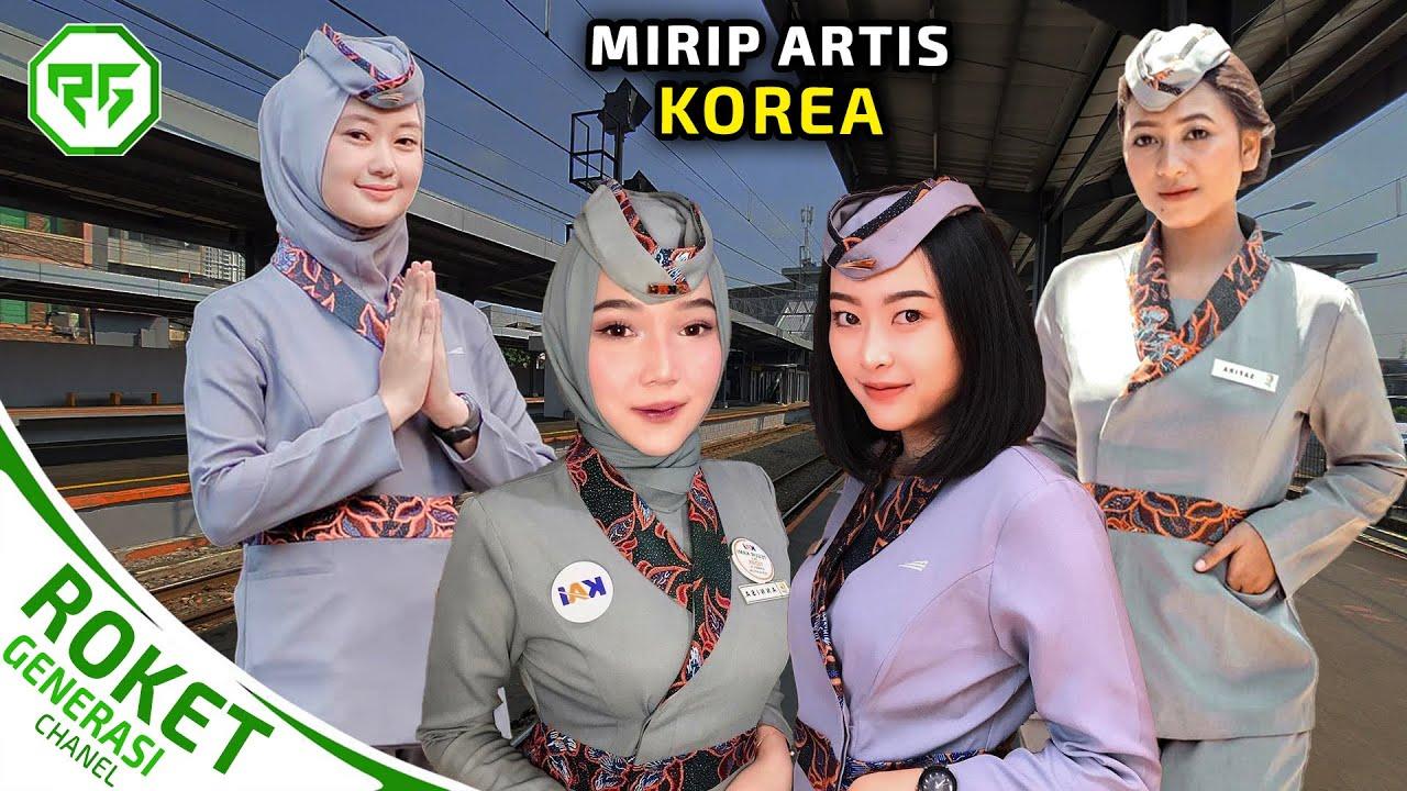Download Gak Kalah Dari Pesawat, 4 PRAMUGARI KERETA API TERCANTIK DI INDONESIA