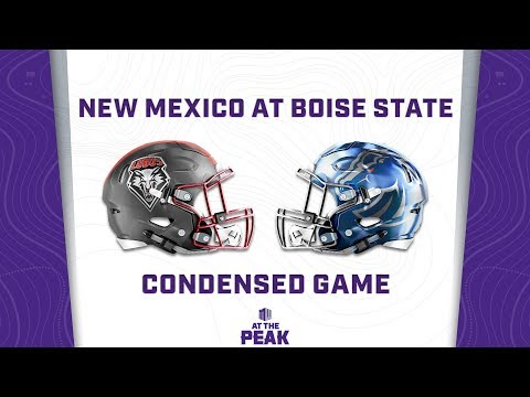 CONDENSED GAME: New Mexico Lobos Vs  Boise State Broncos