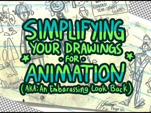 Simplifying Your Drawings for Animation