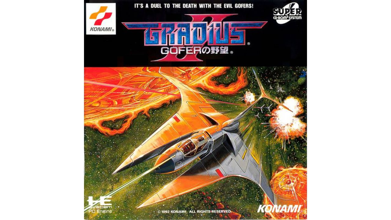 Gradius II - Gofer no Yabou Review for the PC Engine Duo