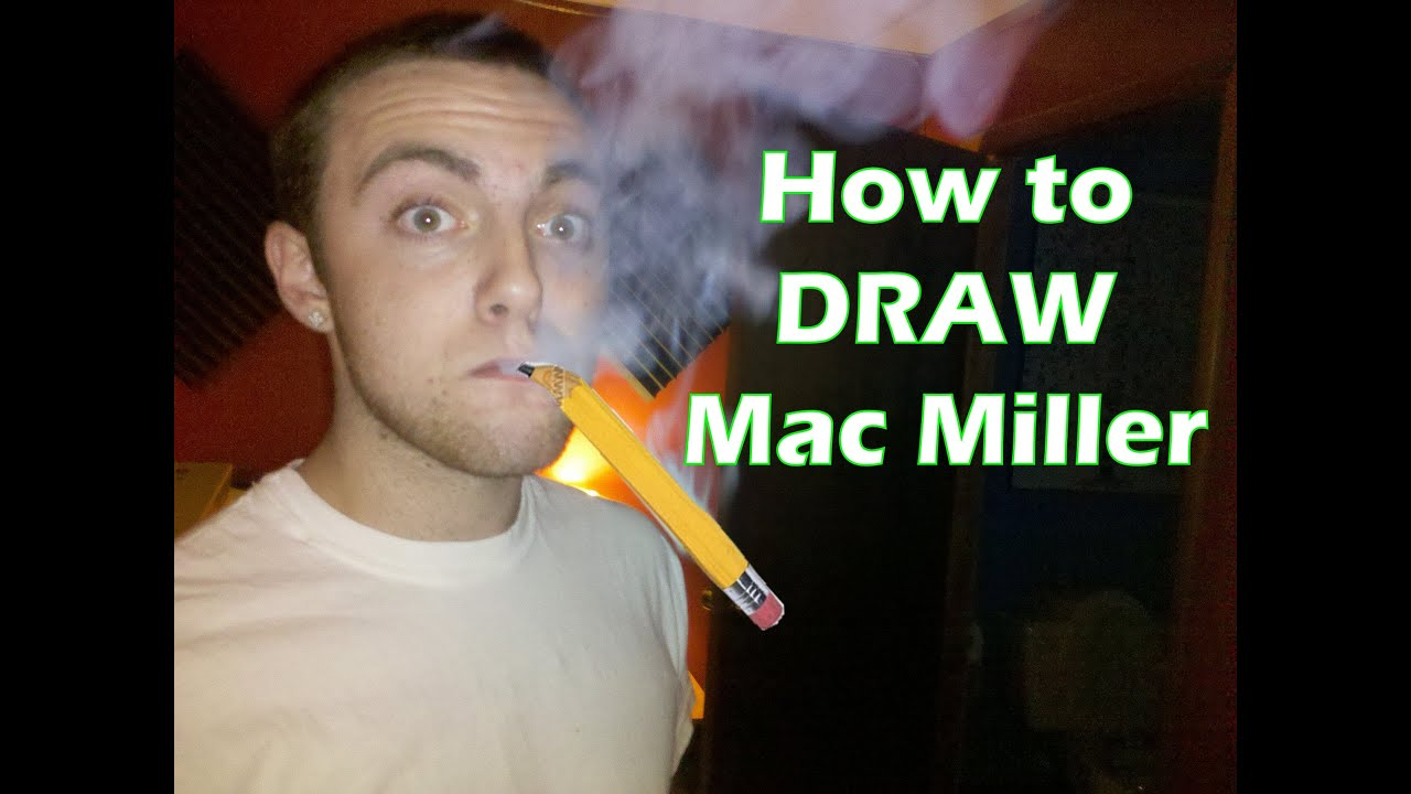 How To Draw Mac Miller Step By Step