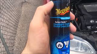 Restoring Headlights with Meguiar's Perfect Clarity PERMANENTLY