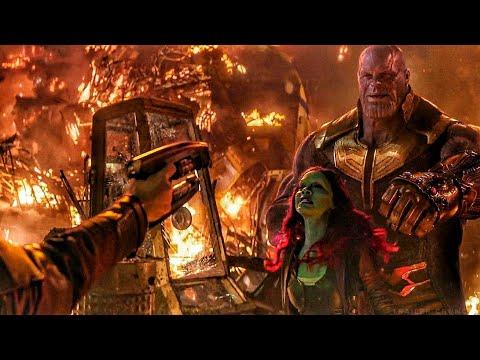 Star Lord Tries to Kill Gamora / Thanos vs Star Lord Scene - Avengers: Infinity War Movie Clip HD