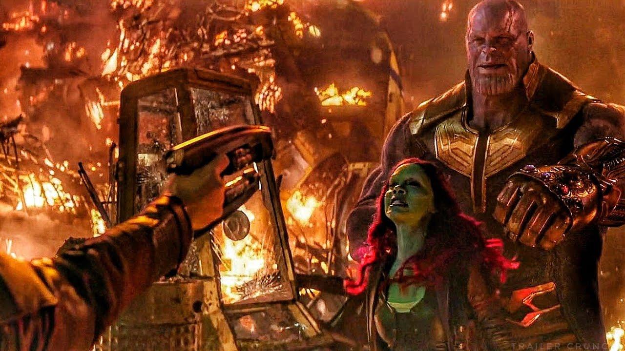 Star Lord Tries to Kill Gamora / Thanos vs Star Lord Scene - Avengers: Infinity War Movie Clip HD - YouTube