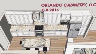 KITCHEN 3DMODELING - 3D DESIGN ORLANDO CABINETRY, LLC