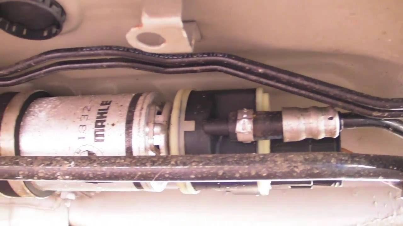 medium resolution of bmw e60 diesel fuel filter