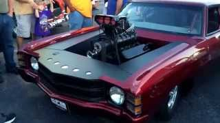 Blown 72' Chevelle Pro Street