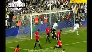 Real Madrid 3 vs Mallorca 1 fecha 38 Liga 2007 FUTBOL RETRO TV