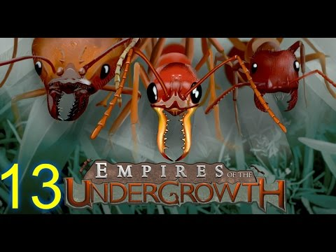 EMPIRES OF THE UNDERGROWTH (HD)--E13 -- AMBUSHED FROM THE SIDE!!!