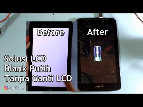 Solusi LCD Blank Putih Asus Fonepad 7 Work 100%