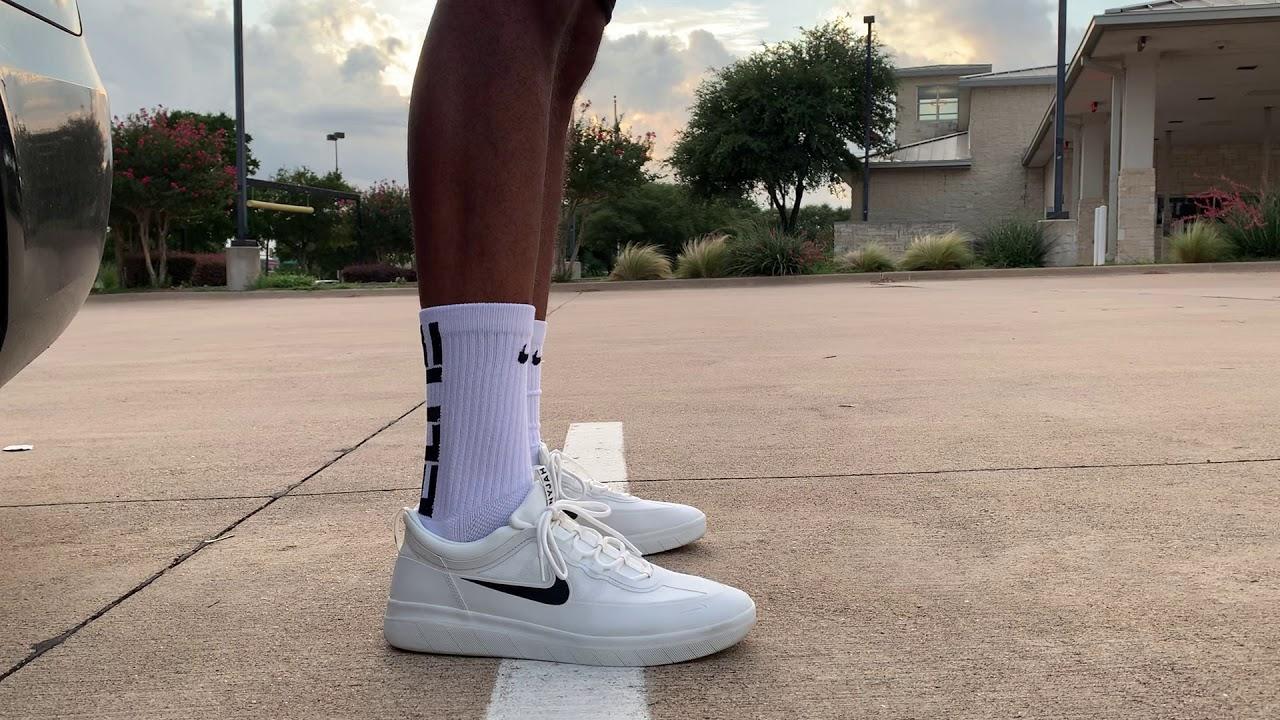 Nike SB Nyjah Free 2 on foot - YouTube