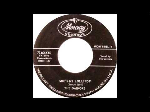 She's My Lollipop - The Gainors 1959 Mercury 71466