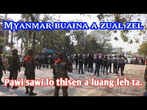Myanmar buaina a zual zela thisen a luang leh ta