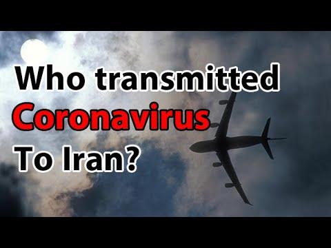 Who transmitted coronavirus to Iran?