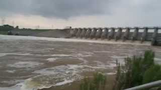 water release and flooding at decordova bend dam granbury tx