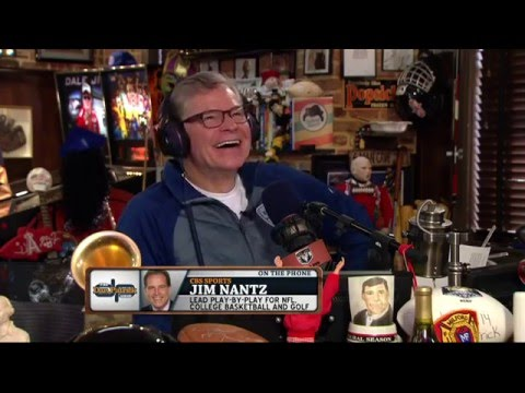 Jim Nantz explains why he carries a picture of toast 04/06/2016