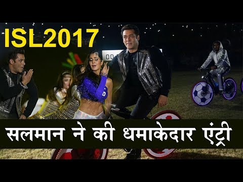 Salman Khan and Katrina Kaif will perform at the ISL 2017 opening ceremony !