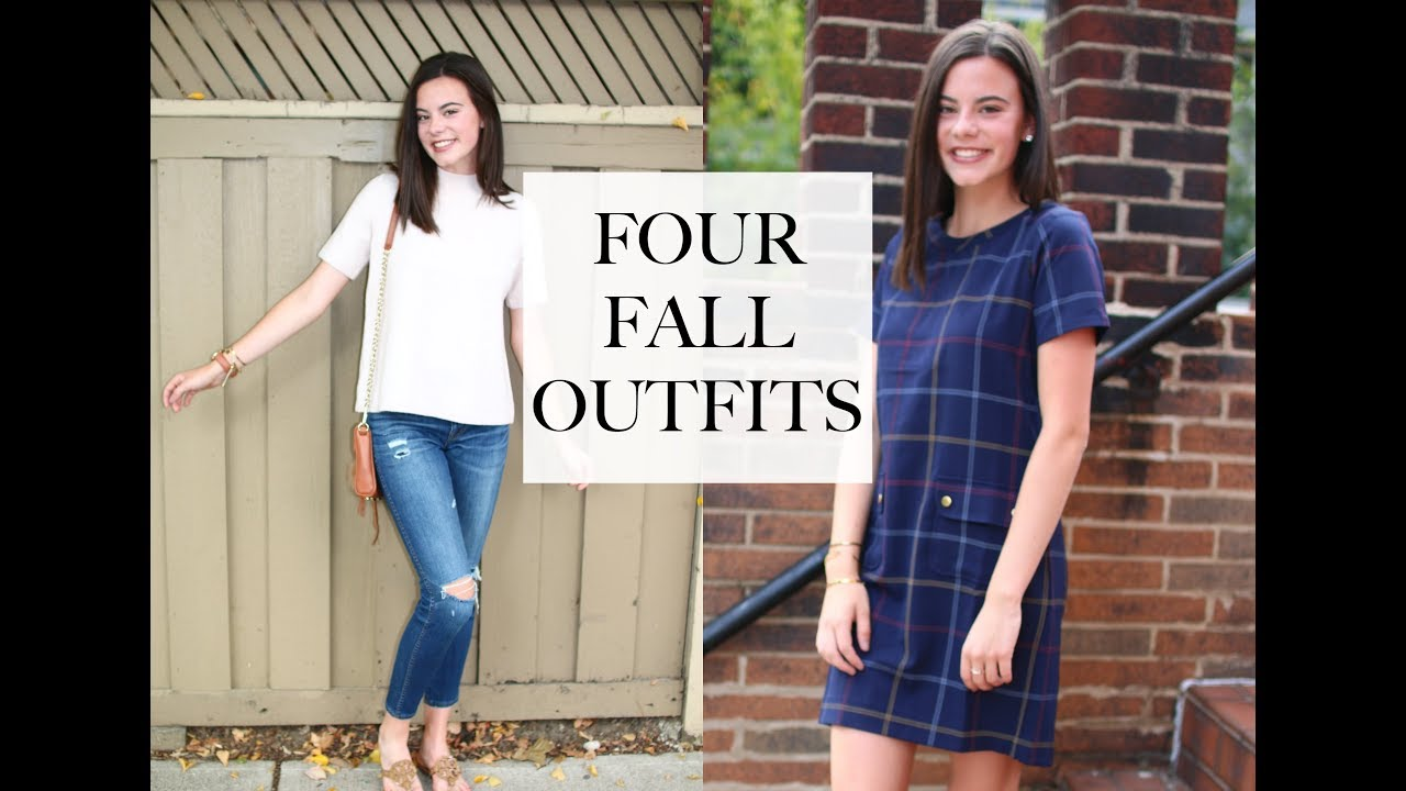 4 SIMPLE PRE-FALL OUTFITS / A Lookbook | emilyOandbows 2