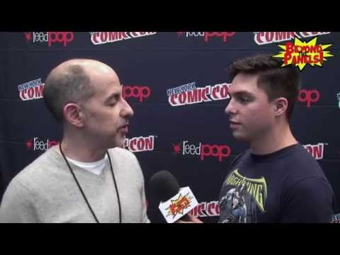David S Goyer the Producer of Constantine at NYCC
