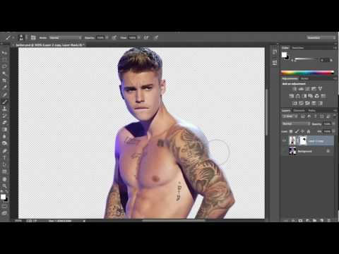 How to add muscle / get jacked in Photoshop tutorial