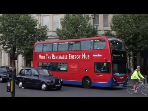 The Renewable Energy Hub - London Bus Banner Advert