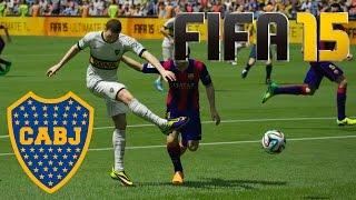 FIFA 15 Boca Juniors - Barcelona | Demo Gameplay PS4 1080p PC