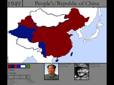 History of modern China: 1912-2017
