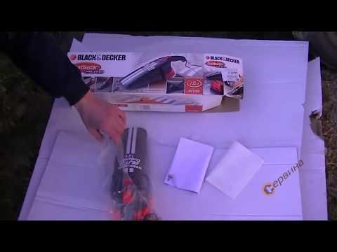 Мини автомобилна прахосмукачка Black&Decker AV1205 - 12V