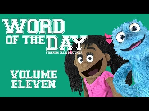 Fluffy Friends - Word of the Day: Volume Eleven