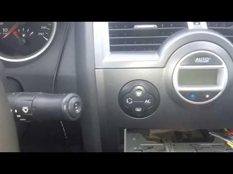 Renault Megane 2 неродная магнитола   родной джостик