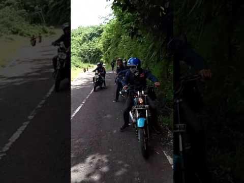 Kopdar Pantai Ujung Genteng @CRKP Basc Agrabinta Cianjur Selatan