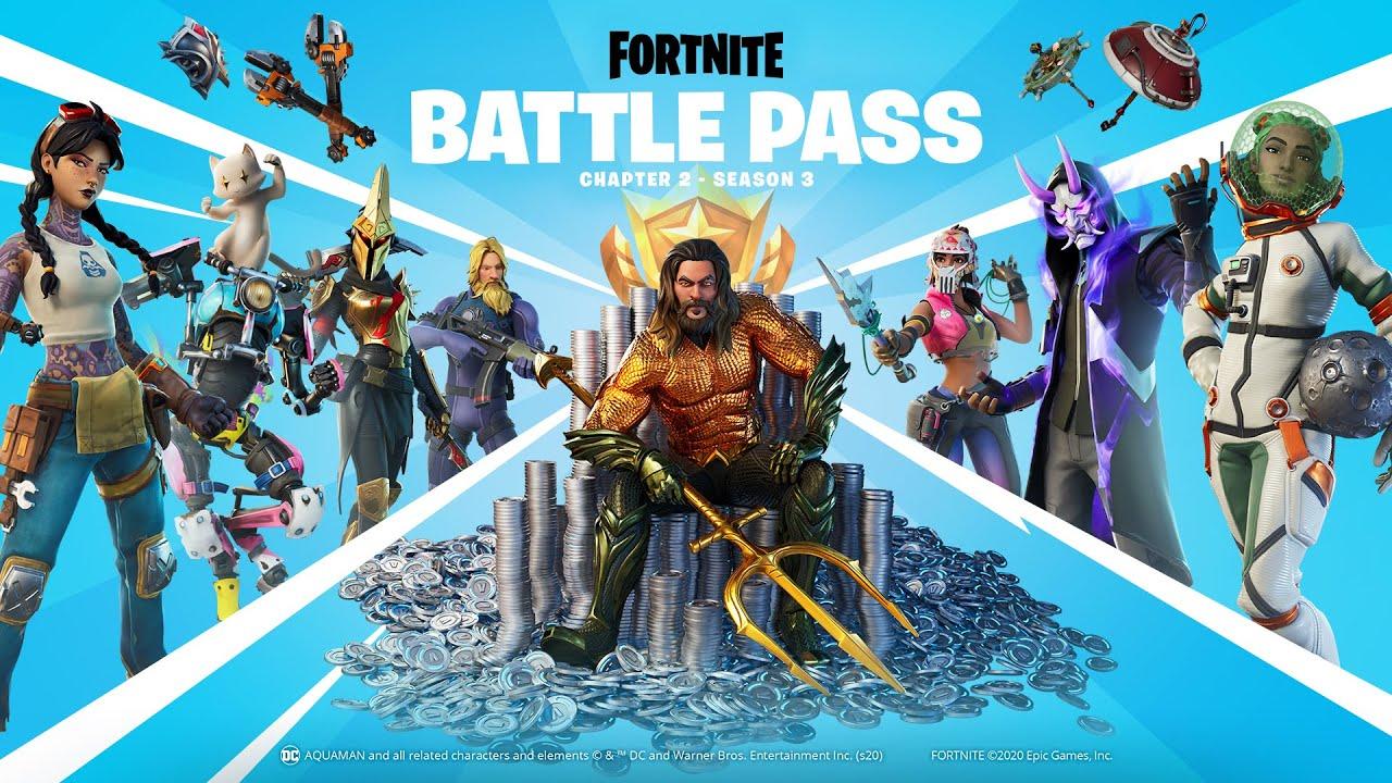 Fortnite Chapter 2 Season 3 Battle Pass Gameplay Trailer Youtube