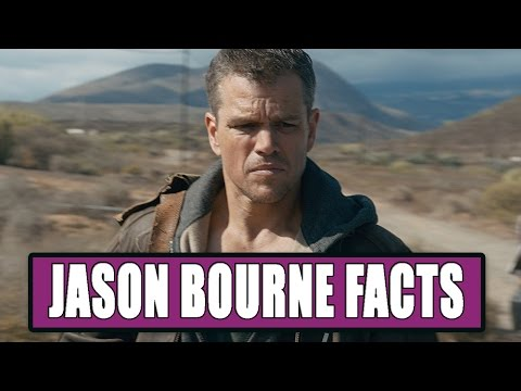 7 Things You May Not Know About Jason Bourne