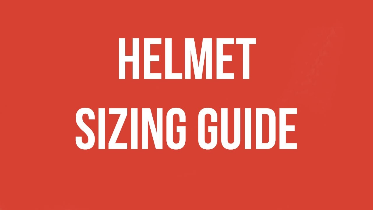 Helmet Fit Guide | SkateHut