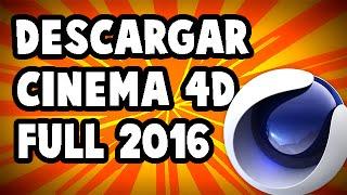 Como descargar e instalar cinema 4D | Facil y Rapido | Full | en Español