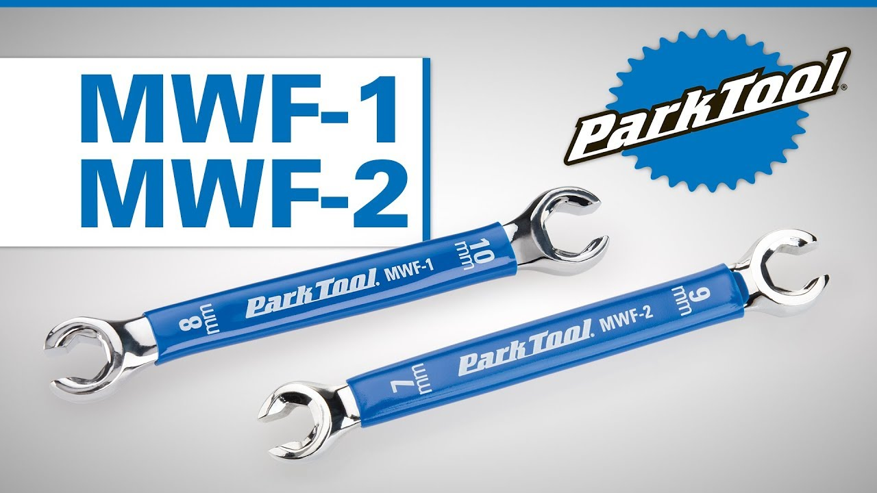 Park Tool MFW-1 Metric Flare Wrenchfor Hydraulic Brake Calipers and Levers