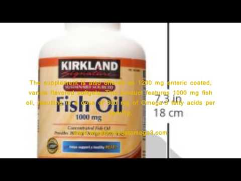 Kirkland Signature Natural Fish Oil Concentrate With Omega 3 Fatty Acids Reviews   Is Kirkland Signa